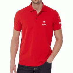 Red Corporate T Shirt