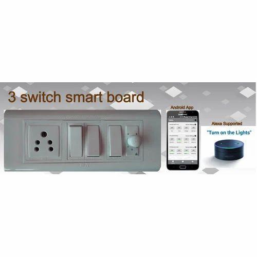 3 Switch 6 Module Wifi Smart Board