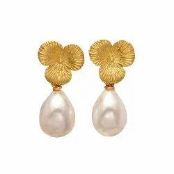 Pearl Long Dangle Earring