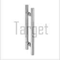 GLASS DOOR HANDLES- H Shape Glass Door Handle