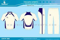 Off White Cricket Garments