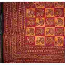 Katha Hand Block Bed Cover
