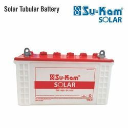 Sukam Solar Inverter Tubular Battery, Capacity: 100-150 Ah