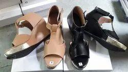 Party Wear Multicolor Fancy Sandal, For Footwear