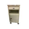 Steel Bedside Cabinet
