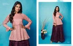 Nitara Sparkles Vol -4 Traditional Chanderi  And Silk With Print Top With Skirt Festival Collection