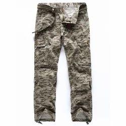 b9cd2f9f2cc21d Camo Print Cuff Drawstring Design Casual Cargo Jeans