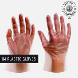 Disposable Plastic Gloves, Packaging Size: 100 Pieces