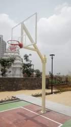 Quality Sports MS Basketball Fixed Pole
