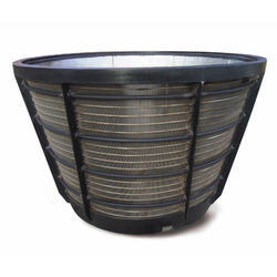 Pusher Centrifuge Basket