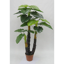 Artificial Philo Real Touch Plant with PU Stick x 24 Lvs. 5'