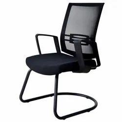Fonzel Delite Black Cantilever Chair