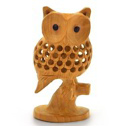 Good Luck Sign Wooden Owl 180