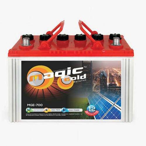 50 Ah Magic Gold Solar Battery Voltage 12 V Rs 3500 Piece Magic Power System Private Limited Id 20254175248