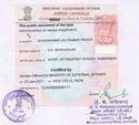 Certificate Apostille