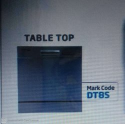Voltas Beko Residential  Table Top Dishwasher Dt8s