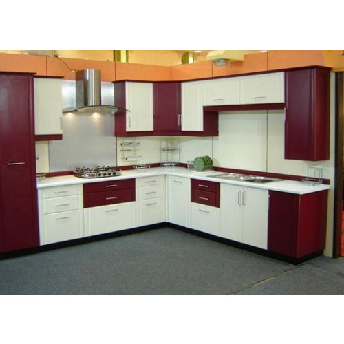 Laminated Modular Kitchen At Rs 1400 Square Feet: Laminated Modular Kitchen, लैमिनेटेड मॉडुलर किचन