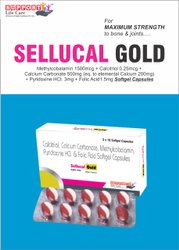 Methycobalamin 1500mcg Calcitriol 0.25mcg Calcium Carbobate 500mg Eq To Elemental Calcium 200mg