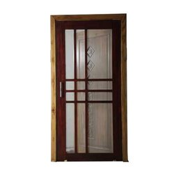 Wood Modern Solid Jali Doors