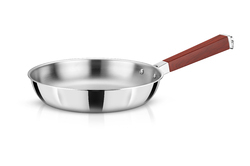 Avonware Whole Body Clad Stainless Steel 18cm Triply Frying Pan