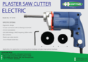 Hospitime Electric Plaster Saw Cutter