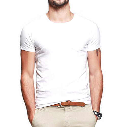 Tirupur Brands White Color T Shirt at Rs 35 /piece | Mens Round ...