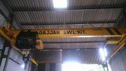 10 Ton I-Beam Type EOT Crane