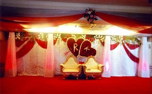 Wedding Stage Decoration Service Indoor Decoration Service Service