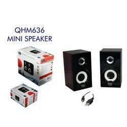 2.0 Bluetooth QHM636 Quantum Mini Speaker, 86.2 G
