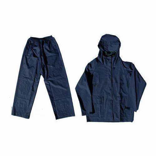 Fashion Addiction Navy Blue Rubber Rain Suit 590c689d2