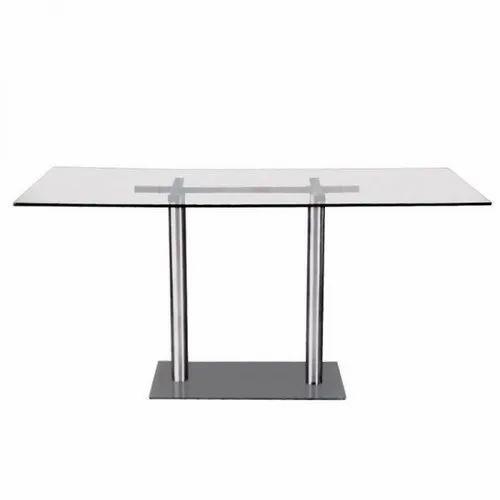 D-418 Glass Restaurant Table