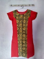 Large And XL Cotton Simple Pure Kurti