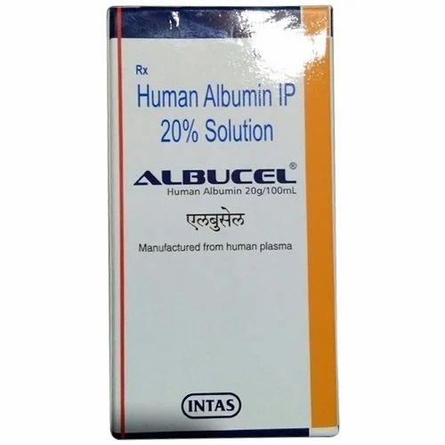 Albucel Injection, ह्यूमन एल्ब्यूमिन - Super Speciality Pharma, Aurangabad  | ID: 19769002073