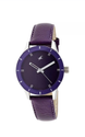 Fastrack Monochrome Analog Purple Dial Women's Watch