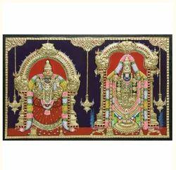 Goldan Balaji Padmavati Embossed