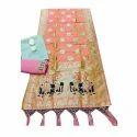 Trendy Banarasi Silk Suit