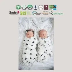Organic Cotton Pair Muslin Wraps