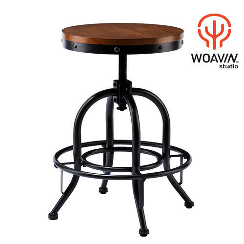 Wood Designer Bar Round Stool Height 18 To 25 Inch Rs 2200 Piece