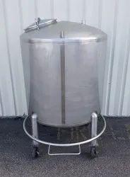 Water Storage SS Tank
