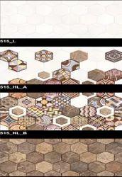 Glossy Series 515 (L,HL-A,HL-B) Hexa Ceramic Tiles