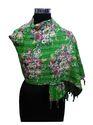 Floral Printed Cotton Kantha Stole Scarves
