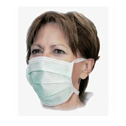 White Surgical Disposable Face Mask, for Surgical