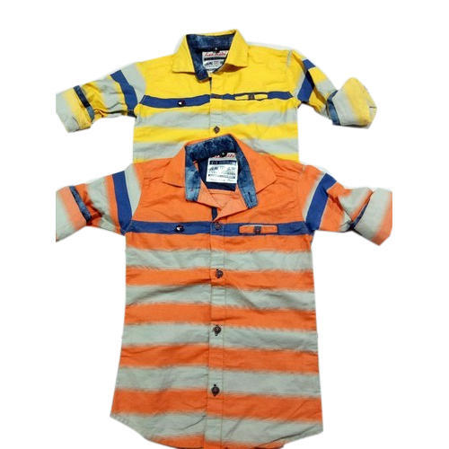 f2bb8a589 Cotton Striped Colorful Stripes SHIRTS, Size: Small, Rs 395 /piece ...