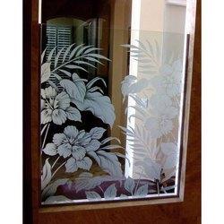 Residential Door Printed Glass