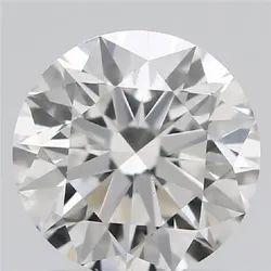 1.00ct Lab Grown Diamond CVD G SI1 Round Brilliant Cut IGI Crtified Type2A