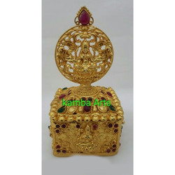 Golden Kumkum Box