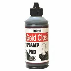 Gold Class 100 ml Black Stamp Pad Ink