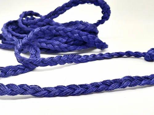 Blue Choti Dori & 3 Strand Braid Cord
