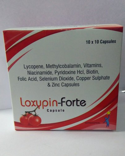 Loxypin-Forte Capsule, Packaging Type: Box