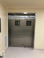 Stainless Steel Hospital Door